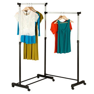 Honey-Can-Do Rotatable Garment Rack (Black)