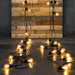 All Occasions Indoor/ Outdoor Vintage LED Light Bulb String Light Decoration (Assorted Size)