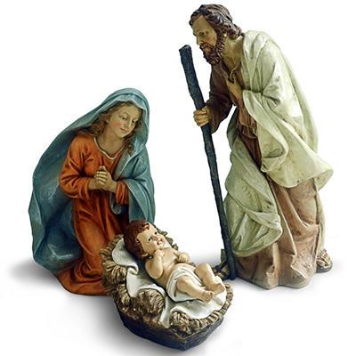 Nativity Scene 4-Piece Set
