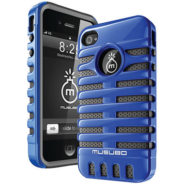 Musubo Retro Case for iPhone 4/4s - Blue