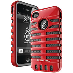Musubo Retro Case for iPhone 4/4s - Red