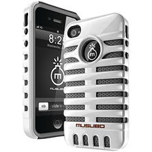 Musubo Retro Case for iPhone 4/4s - White