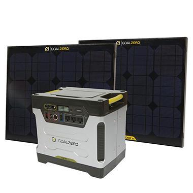 Goal Zero - Yeti 1250 Solar Generator Kit