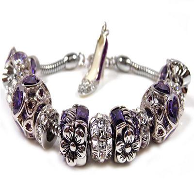 Elegant Purple Passion Bracelet
