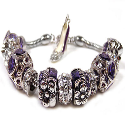Elegant Purple Passion Bracelet