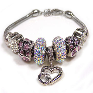 """I Love You"" Crystal Bracelet"