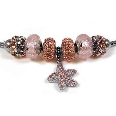Champagne Starfish Bracelet