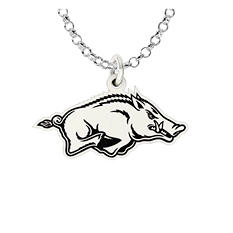 University of Arkansas Sterling Silver Collegiate Jewelry Collection