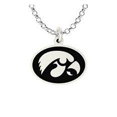 University of Iowa Sterling Silver Collegiate Jewelry Collection
