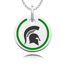 Michigan State University Sterling Silver Collegiate Jewelry Collection