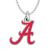 Fiora Alabama Sterling Silver Logo Necklace (Assorted Styles)