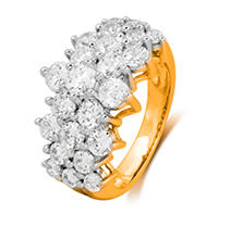 Click here for 2.00 ct. t.w. Round Cut Diamond Firework Engagemen... prices