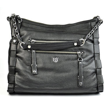 LEATHER HOBO MSRP $259.00