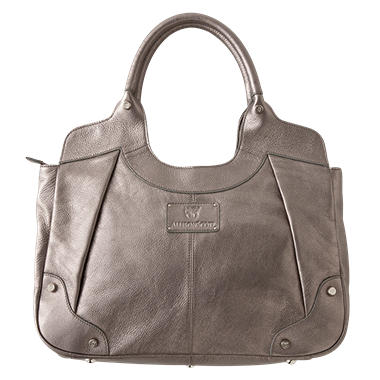 Allison Scott Leather Ashanti Tote - Pewter