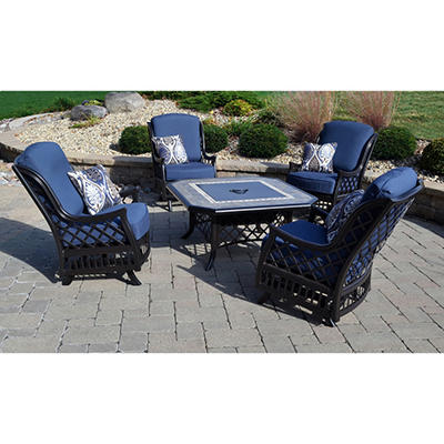 Cape Verde 5-Piece Fire Chat Set