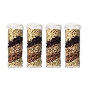 Glasslock 60oz Airtight Containers, 8-Piece Set