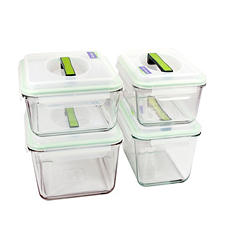 Glasslock Travel Containers, 8-Piece Set