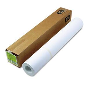 "HP Designjet Inkjet Large Format Paper, 6.6 mil, 24"" x 100 ft, White"