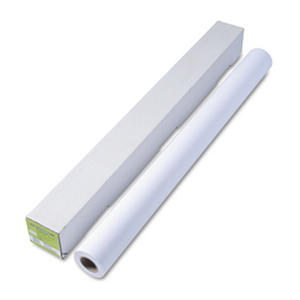 "HP Designjet Universal Heavyweight Paper, 6.1 mil, 42"" x 100 ft,  White"