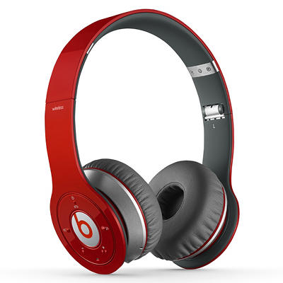 Beats Wireless Over the Ear Headphone - Red
