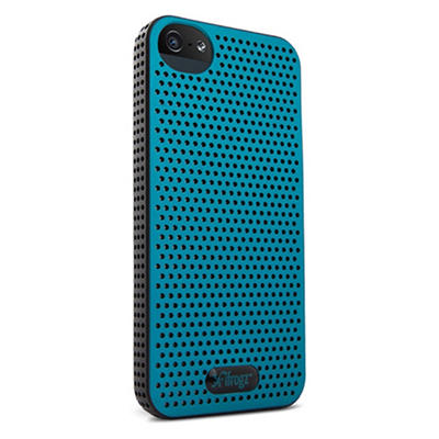 iFrogz Breeze Cover for iPhone 5 - Black and Teal