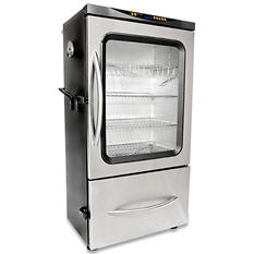 "Boulder Creek 44"" Electric Smoker with Glass Window"