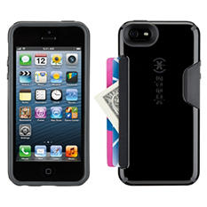 Speck iPhone 6 CandyShell Card Black/Slate Grey