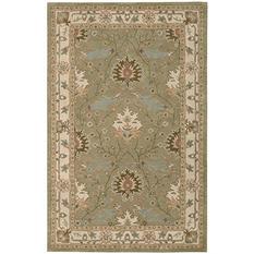 Nourison Worcester Wool Rug, Sage (Assorted Sizes)