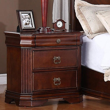 Chandler Nightstand - 3 Drawer.