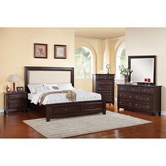 Harland King Bedroom Set 4-Piece