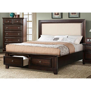 Harland Bed with Upholstered Headboard (Assorted Sizes)