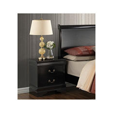 Bellamy Black Nightstand