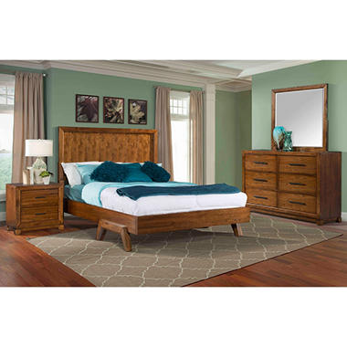 Madero Bedroom Set (Choose your size)  MF600Q4PC