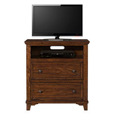 Warren Rustic Oak Media Chest
