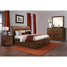 Danner Storage Bed Bedroom Set (Choose Size)