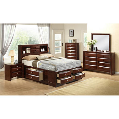Madison Bed With Storage Drawers Bedroom Set Assorted Sizes Sam 39 S Club