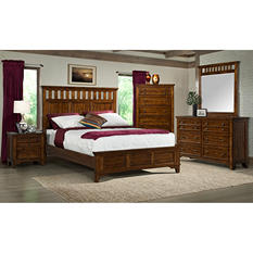 Warren Rustic Oak Bedroom Set (Assorted Sizes)
