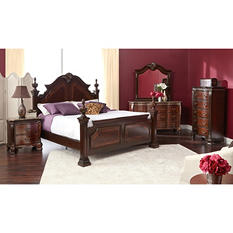 Victoria Poster Bed and Bedroom Furniture Set (Assorted Sizes)