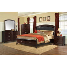 Elaine Platform Storage Bed Bedroom Set (Assorted Sizes)