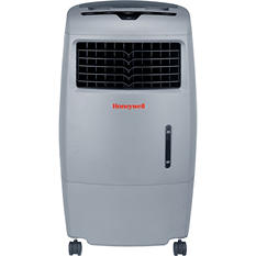 Honeywell CO25AE Indoor/Outdoor Evaporative Air Cooler with Remote Control - Grey