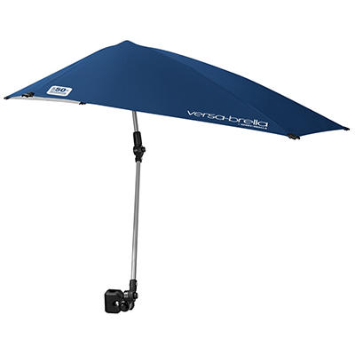 Versa-Brella by Sport-Brella All-Position Umbrella with Universal Clamp - Blue