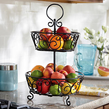 2 Tier Basket