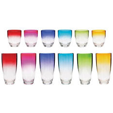 Tritan Tumblers 12-Pack Assortment