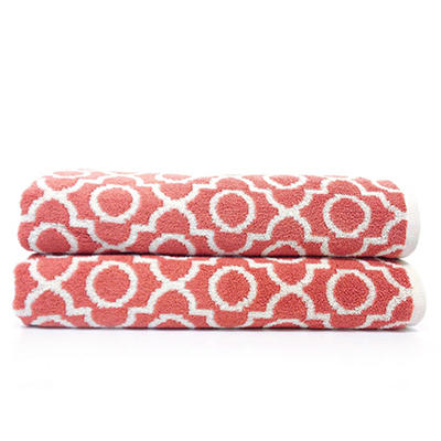 """Loft Fashion Bath Towel, 100% Cotton, 30"""" x 58"""" - Various Patterns"""