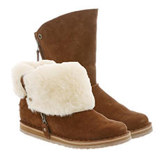 100% Genuine Sheepksin Convertible 2-in-1 Boot