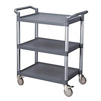 Utility Cart, Gray (Knock Down)