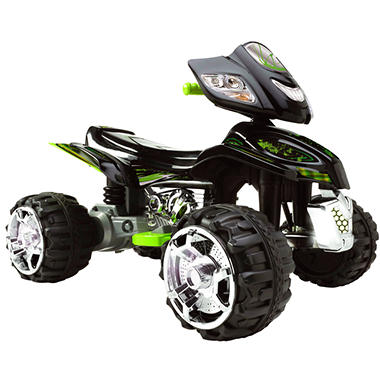 Commander Quad ATV - 12 Volt Battery Powered Ride-On