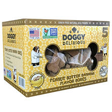 Wet Noses Doggy Delirious Dog Treats, 5 lbs. (Choose Your Flavor)