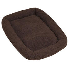 ASL Solutions Fleece Dog Bed for DP Hunter House or Dog Palace, Brown (Assorted Sizes)