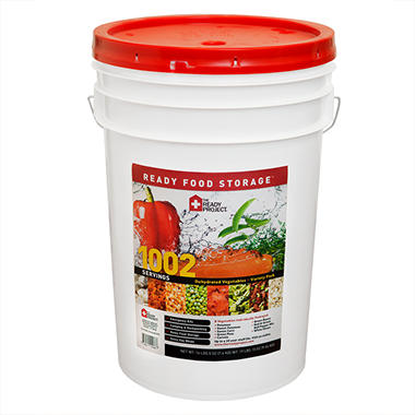 The Ready Project Dehydrated Vegetables - 1,002 Servings